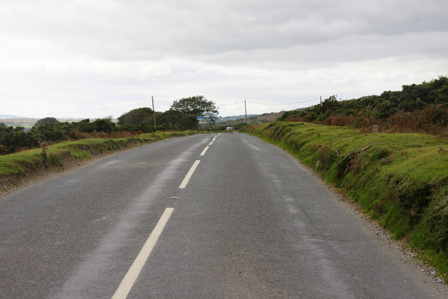 Looking Towards Beatland Corner