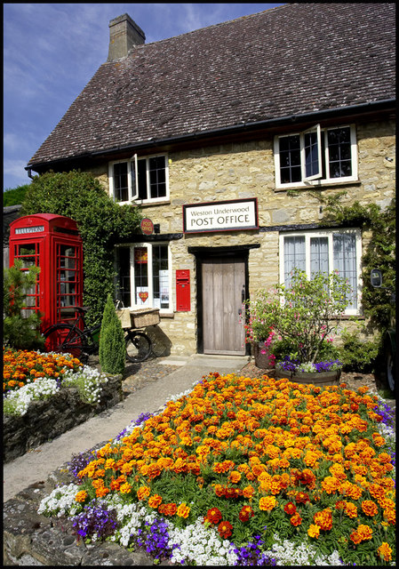 Village Post Office, Weston Underwood by Cameraman