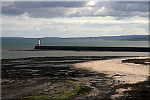 NU0052 : The beach at Meadow Haven, Berwick-upon-Tweed by Walter Baxter