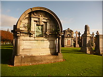 NS6065 : Glasgow: Walter MacFarlane mausoleum by Chris Downer