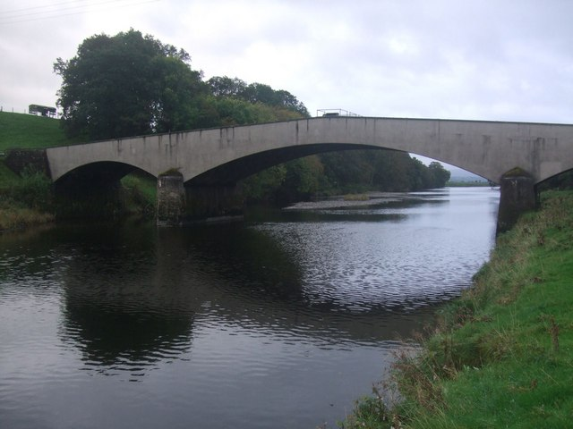 Pipe Bridge over the River Lune