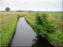 NY9875 : Hallington Reservoir Watercourse near Hallington by Les Hull