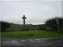NY9874 : Hallington and Bingfield War Memorial by Les Hull