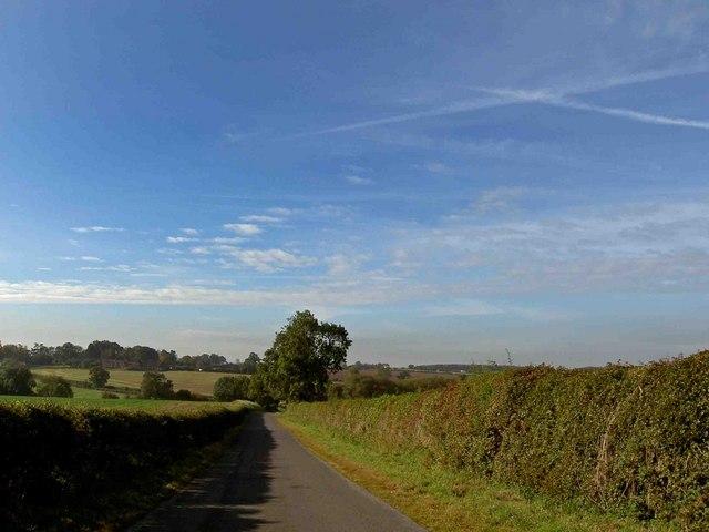 Lane near Winkburn