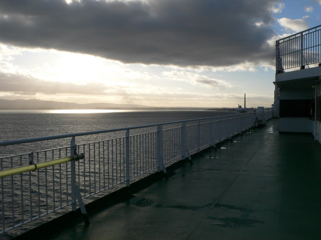 Approaching Dublin Harbour