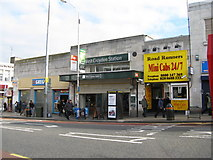 TQ3266 : West Croydon station, exterior view by Dr Neil Clifton