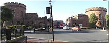 NY4055 : The Citadel, Carlisle by Kenneth  Allen
