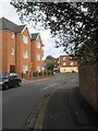 SU6504 : Flats at the northern end of Hilsea Crescent by Basher Eyre