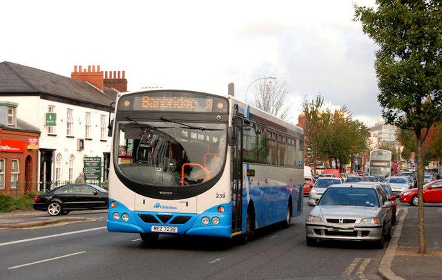 Banbridge bus, Belfast