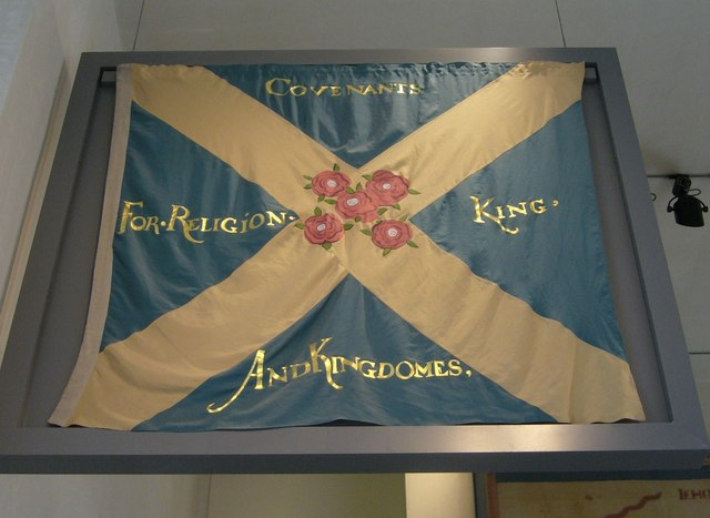 Covenanter flag (replica), National Museum of Scotland