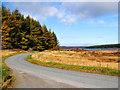 NN7754 : Minor road near Loch Kinardochy by Dr Richard Murray