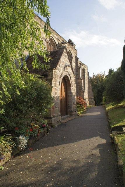 Lambley Churchyard footpath