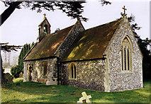 SU5073 : St Bartholomew, Oare by Michael FORD