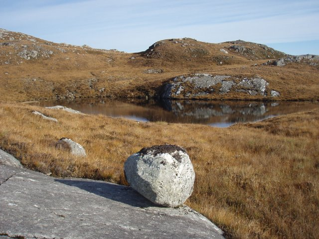 Unnamed lochan in the Inchgarve Forest
