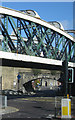 NZ2563 : Wellington Street railway bridge, Gateshead by Pauline E