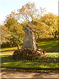 NS5766 : Glasgow: South African War memorial, Kelvingrove Park by Chris Downer