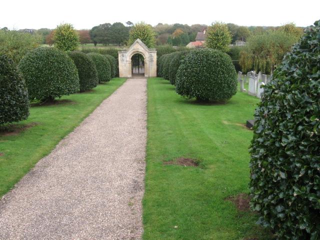 Gateway to St Winifred's Church