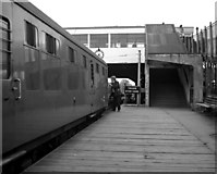 NZ3371 : West Monkseaton station by Dr Neil Clifton