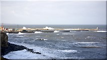 NZ4349 : Seaham Harbour from the south by Andrew Curtis