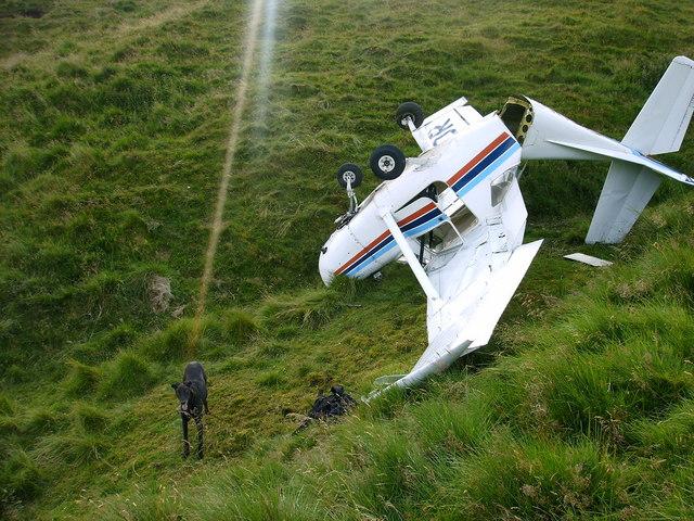 Cessna Crash Ochil Hills