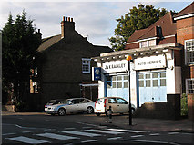 TQ4077 : Rackley's Auto Repairs, Charlton Road by Stephen Craven