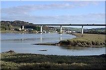 SW9873 : The Camel Estuary near Wadebridge by Tony Atkin