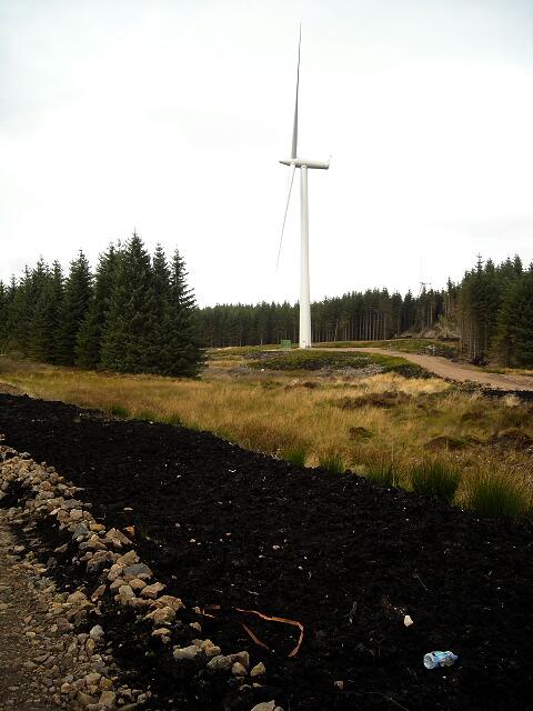 Wind Turbine in Whitelee Windfarm
