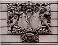 J3374 : The Scottish Provident Building, Belfast (detail) (3) by Albert Bridge