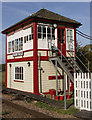 TF0706 : Uffington Level Crossing Signal Box by Glyn Weekes