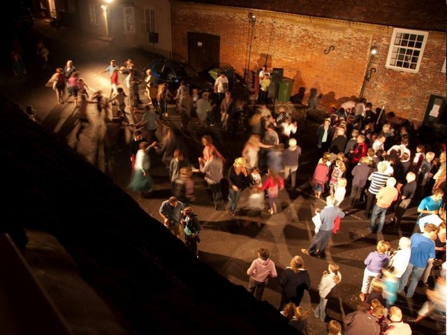 Hambledon High Street - annual barn dance