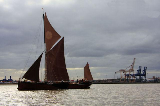 Thames sailing barge 'Melissa'