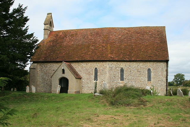 St Giles' church, Merston