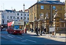 TQ2879 : Sightseeing on Buckingham Palace Road by Martin Addison