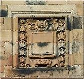 NS5666 : Glasgow University date stone by Thomas Nugent