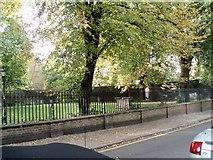 TQ3480 : Park in Wapping Lane by Paul Gillett