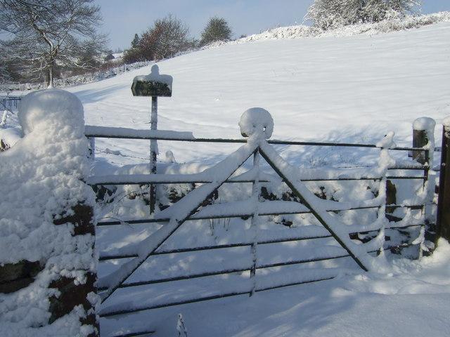 Entrance to Merrydale Clough, Slaithwaite