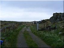 NR6880 : Gate at Keilmore on B8025 by PAUL FARMER