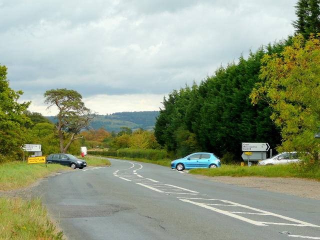 Shetcombe crossroads