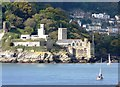 SX8850 : Dartmouth Castle and St Petrox Church, Dartmouth by Tom Jolliffe