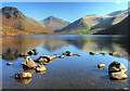 NY1505 : Wastwater, Yewbarrow and Great Gable by Andy Stephenson