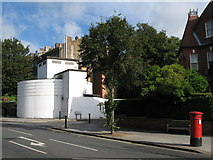 TQ2785 : Belsize Park deep shelter (south), Haverstock Hill / Downside Crescent, NW3 by Mike Quinn