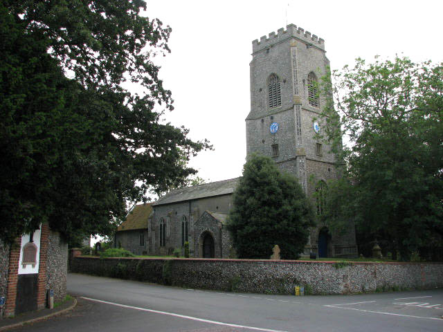 The church of SS Andrew and Mary