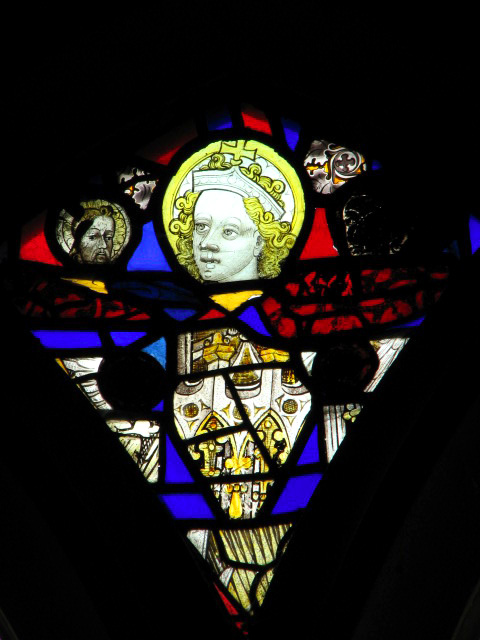 St Peter's church - medieval glass