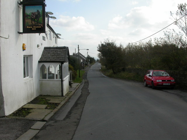 Affetside, Roman road