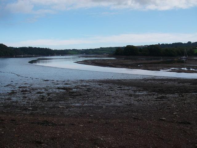 Low tide at Sandridge