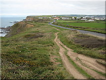 SS2004 : The coast path south of Upton by Philip Halling