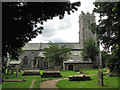 TG4914 : St Margaret's church in Ormesby St Margaret by Evelyn Simak
