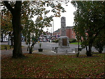 SJ8588 : Cheadle, war memorial by Mike Faherty