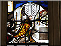 TG0743 : St Nicholas' church - Continental glass by Evelyn Simak