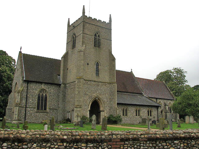 St Mary & All Saints' church in Sculthorpe